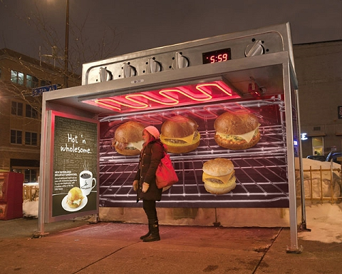 ↑ Oven bus stop
