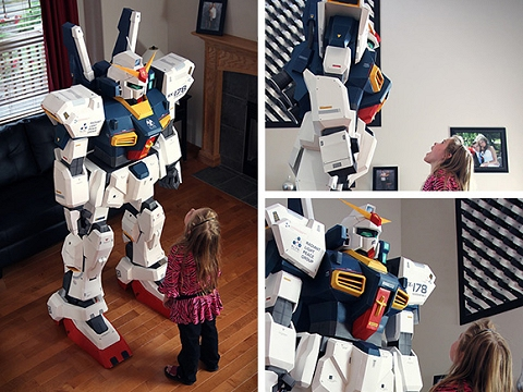 ↑ 7FT Gundam -- Ultimate Papercraft