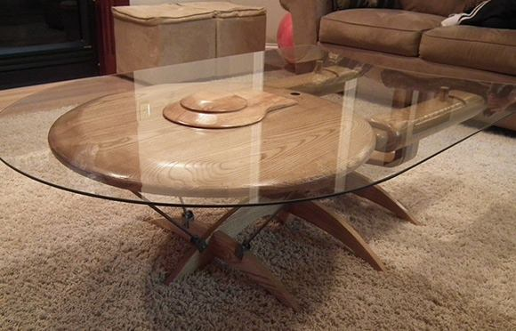 ↑ Star Trek Enterprise NCC 1701-C Coffee Table