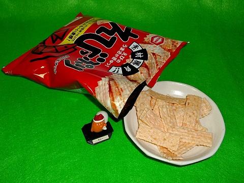 ↑ えびっぷり(亀田製菓)
