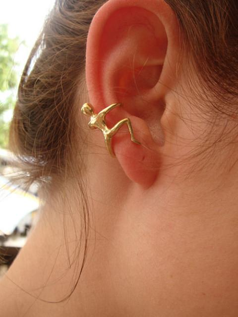 ↑ Human shaped earring