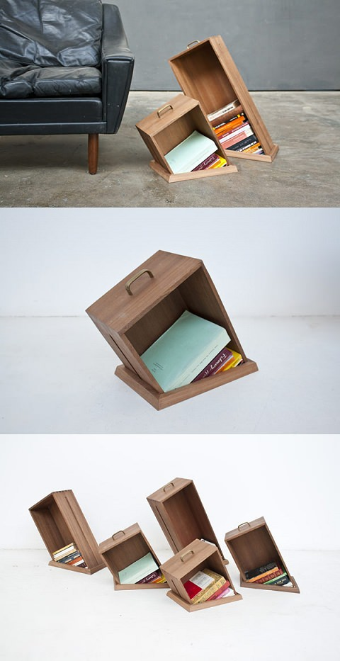 ↑ Ingenious Shelving Units: Hole in the Floor Series by Raw Edges