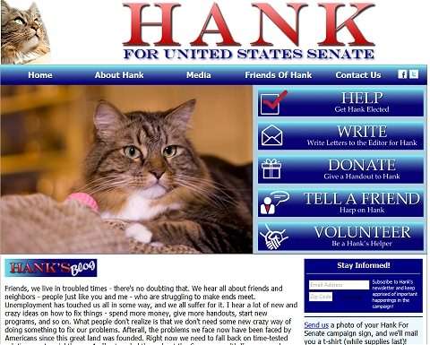 ↑ Hank For Senate