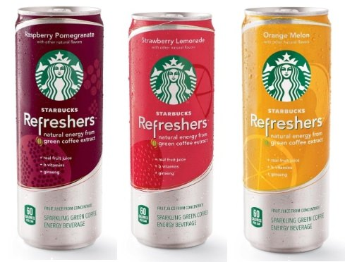 ↑ Starbucks Refreshers