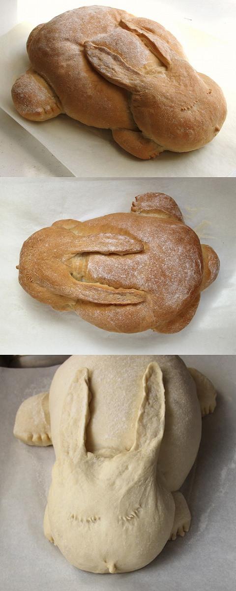↑ うさぎパン