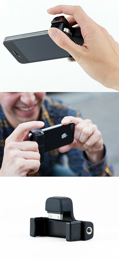 ↑ The iPhone Shutter Grip
