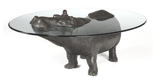 ↑ Hippopotamus Table