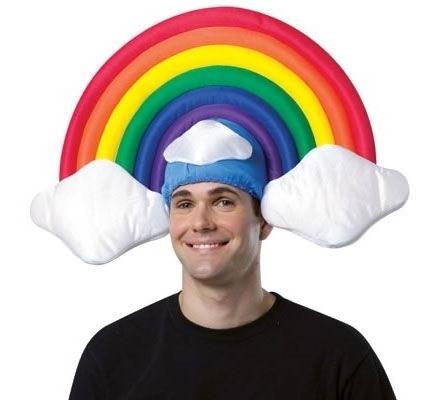 ↑ Rainbow Hat