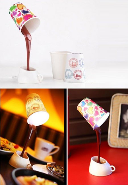 ↑ Chocolate Lamp