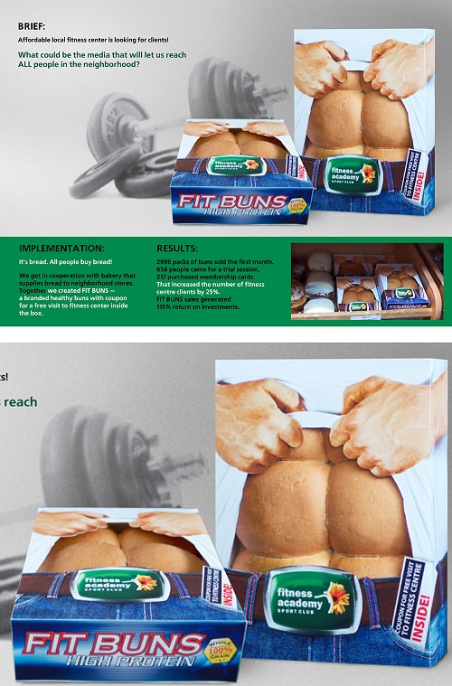 ↑ Fit Buns High Protein: Bread