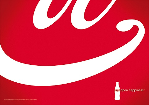↑ Coca-Cola: Open Happiness
