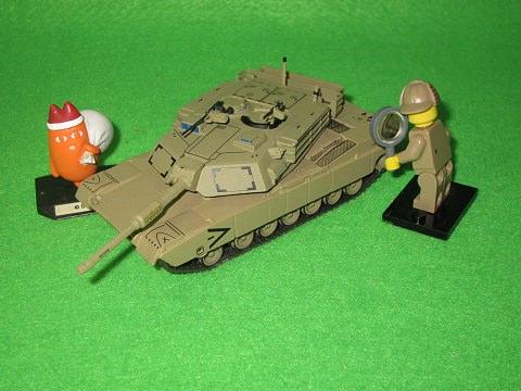 ↑ アメリカ陸軍戦車 M1A1 HA エイブラムズ