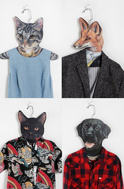 ↑ Animal Clothes Hanger