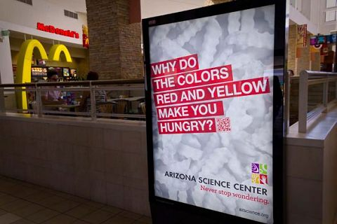 ↑ Arizona Science Center: Never stop wondering, Yellow Red Hungry
