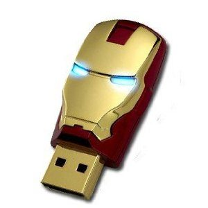 ↑ iron man アイアンマン/MARVEL Avengers アベンジャーズ / 8GB USBフラッシュメモリ