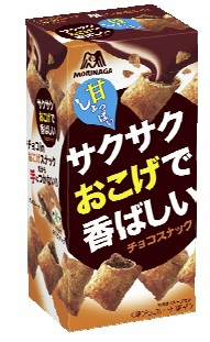 ↑ サクサクおこげで香ばしいチョコスナック