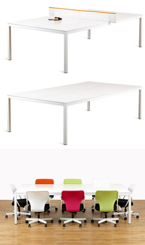 ↑ Ping-Pong Conference Table