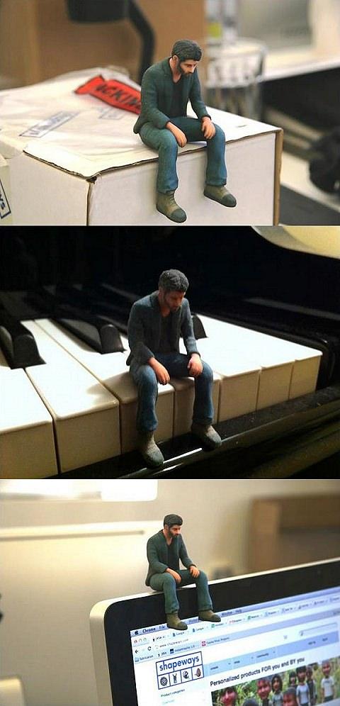 ↑ A Little Sad Keanu Reeves
