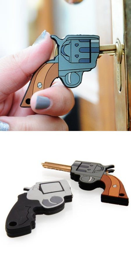 ↑ Pistol Shaped Key Covers