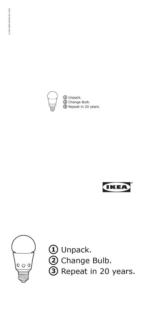 ↑ IKEA: Bulb