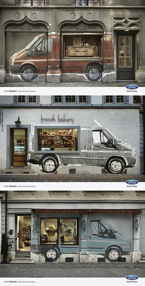 ↑ Ford Transit. A part of your business.