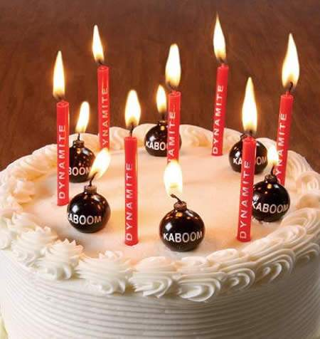 ↑ KABOOM BIRTHDAY CANDLES