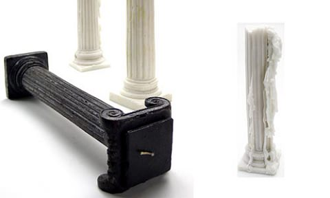 ↑ Greek Column Candle