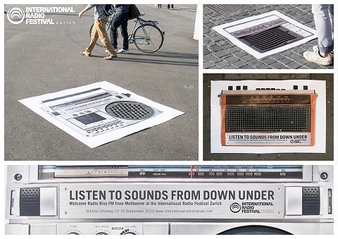 ↑ International Radio Festival: Streetposters