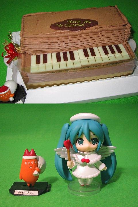 ↑ ねんどろいどぷち 初音ミク クリスマス♪ピアノケーキVer.