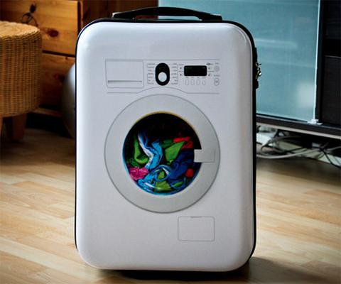 ↑ Washing Machine Suitcase