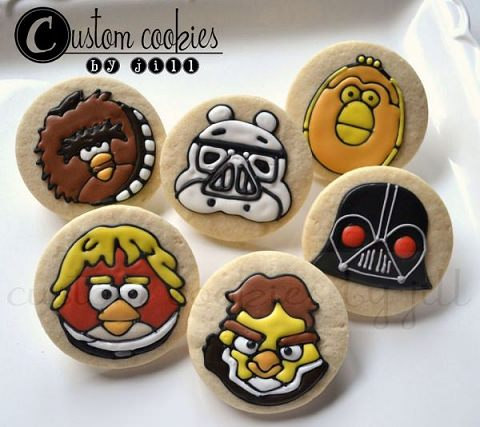 ↑ Angry Birds Star Wars Cookies