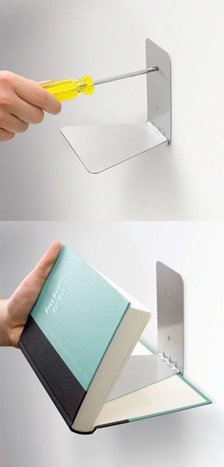 ↑ Invisible Bookshelf