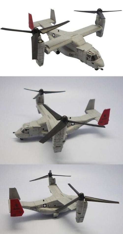 ↑ 1/144 アメリカ海兵隊 垂直離着陸輸送機 MV-22