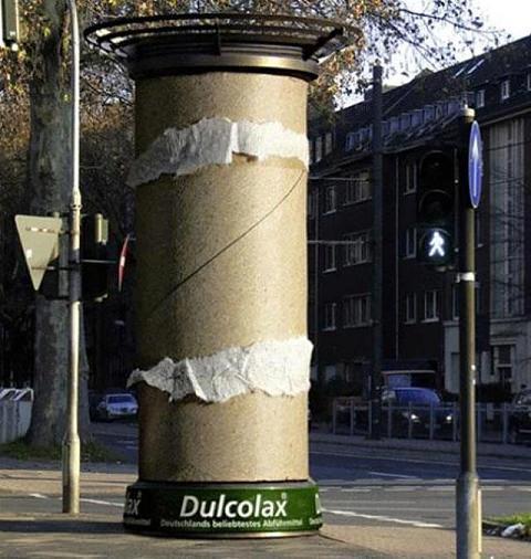 ↑ Dulcolax: Toilet Paper