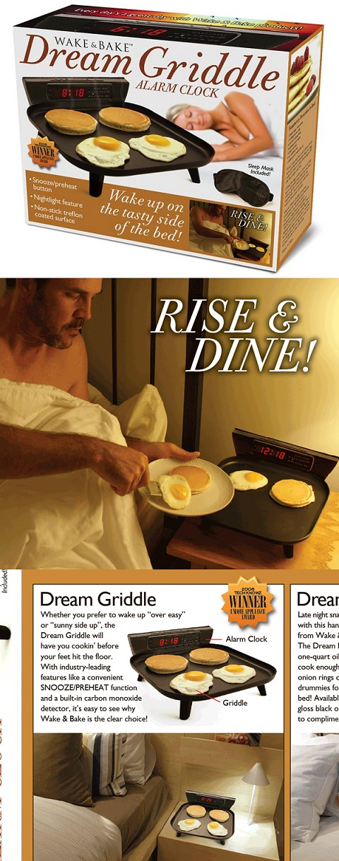 ↑ Wake & Bake Griddle