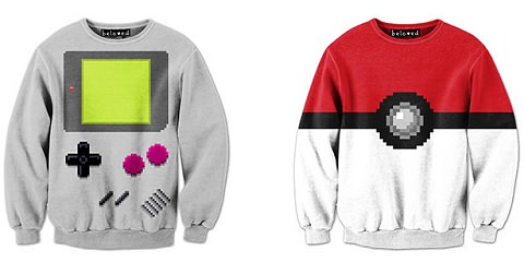 ↑ Pixelated Shirts by Drew Wise