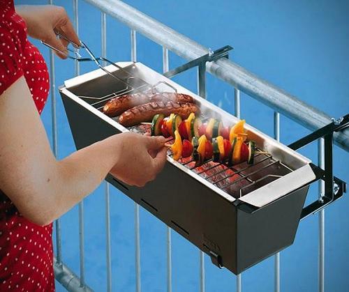 ↑ BBQ Bruce Handrail Grill