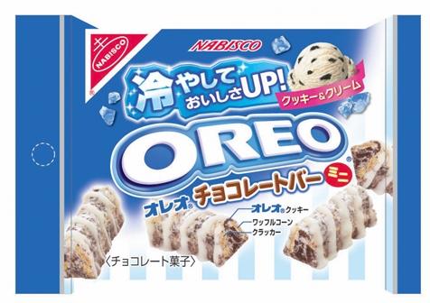 ↑ オレオ チョコレートバーミニS クッキー&クリーム