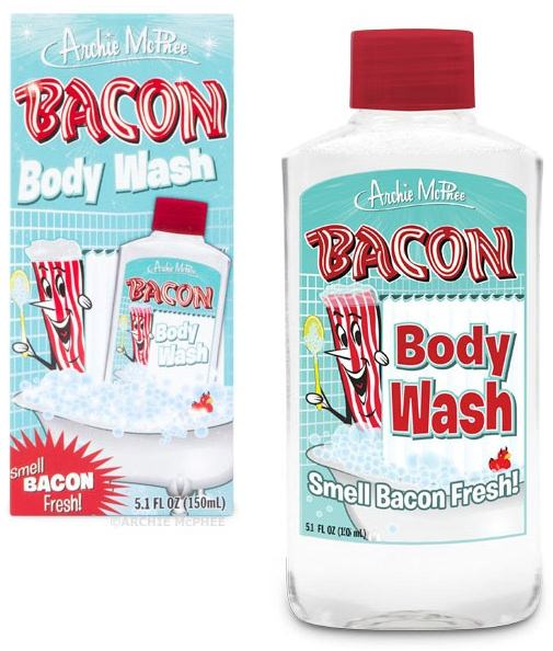 ↑ Bacon Body Wash
