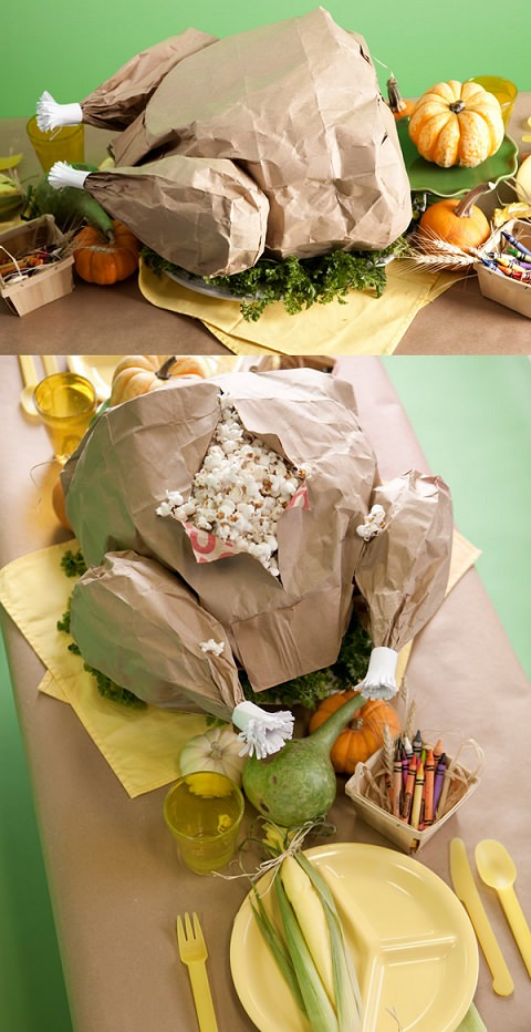 ↑ Popcorn Turkey Bag
