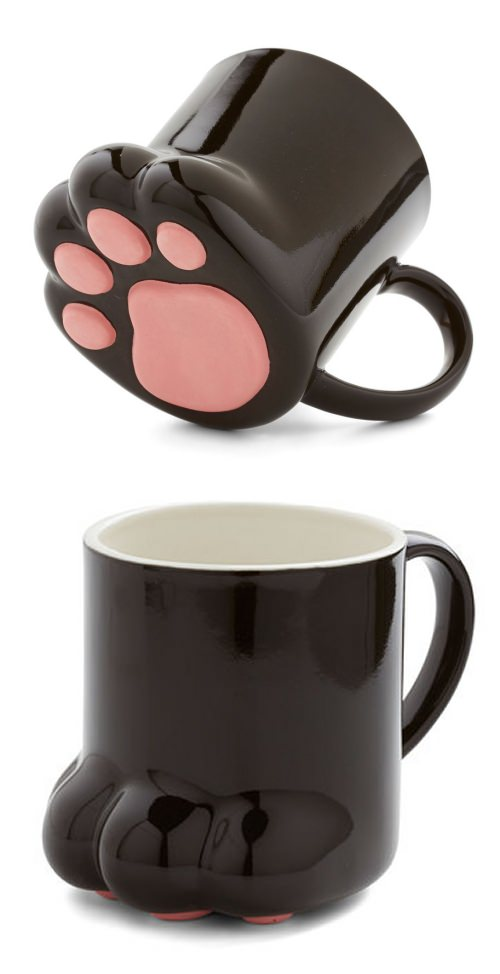↑ Pawsitively Bemused Mug